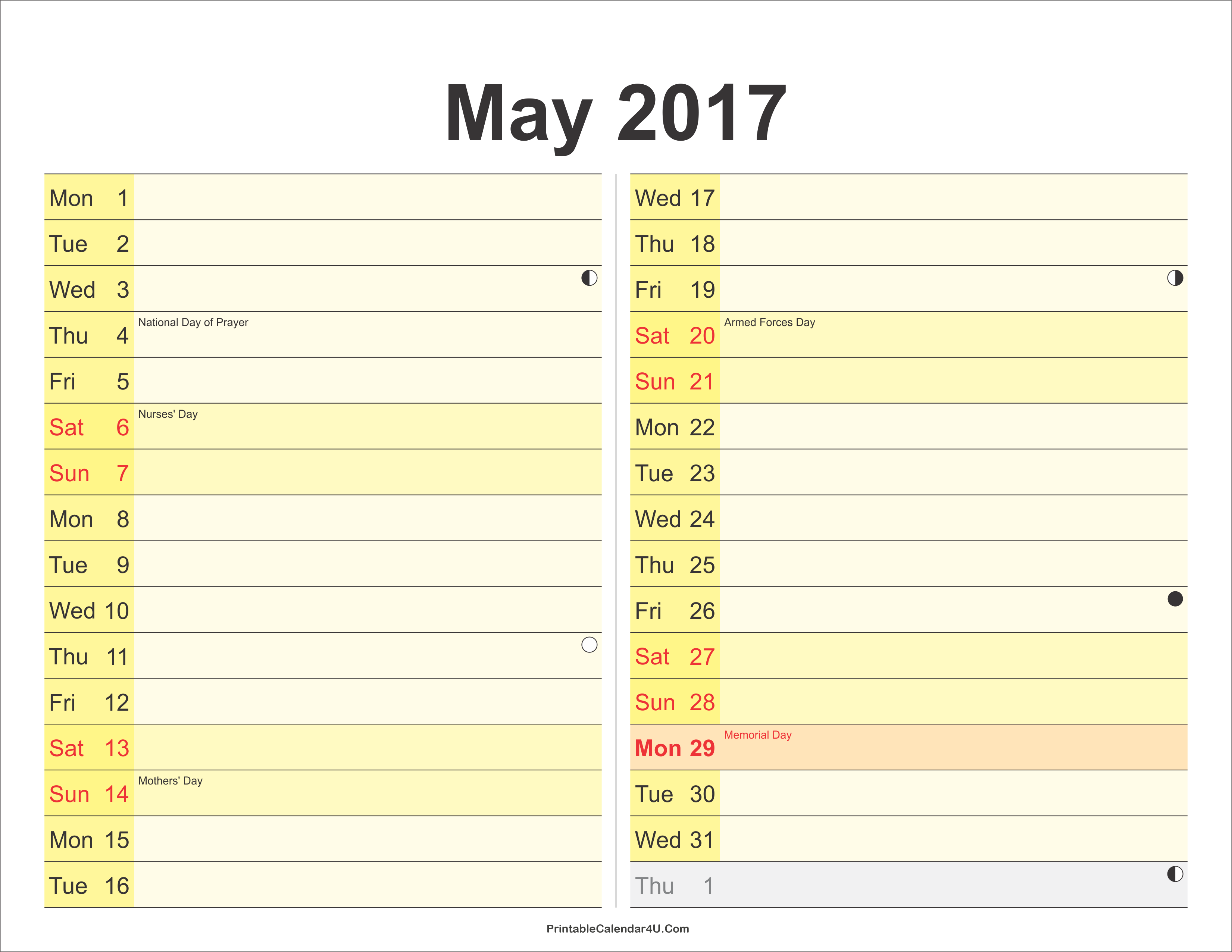 Calendar Planner May : Month planner may free printable calendar